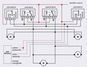 Central Locking Wiring Diagram