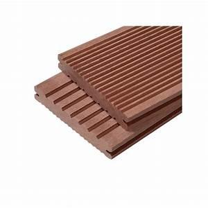 Lame De Terrasse Composite Castorama : terrasse bois composite lame pleine ~ Dailycaller-alerts.com Idées de Décoration