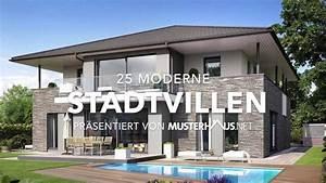 Stadtvilla Mit Garage : 25 moderne stadtvillen einfamilienh user youtube ~ A.2002-acura-tl-radio.info Haus und Dekorationen