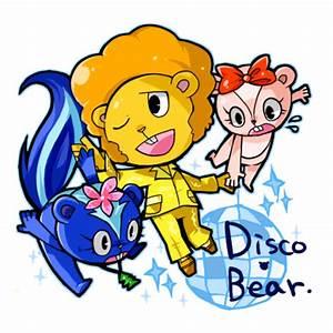 Happy Tree Friends-Disco Bear by mizudokei on DeviantArt