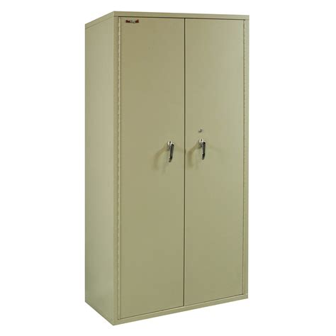 fireking used 72 inch fireproof storage cabinet putty