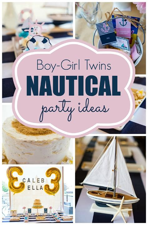 birthday party ideas for new party ideas nautical birthday party pretty my party