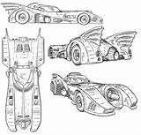 Batmobile Coloring Blueprints Pages Batman Schematics Rob Room Blueprint Mostly Bat Tire Line Printable Dark Thedorkreview Prints Knight Mobile Forever sketch template