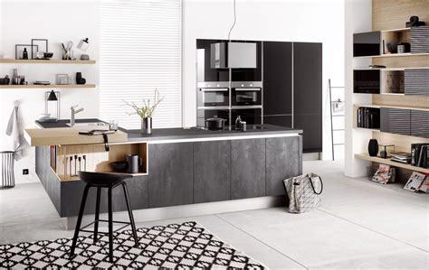 haecker cuisine häcker küchen präsentiert neue fronten in betonoptik