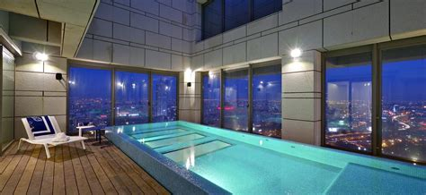 Indoor Pool : The Stunning Sky Penthouse In Israel