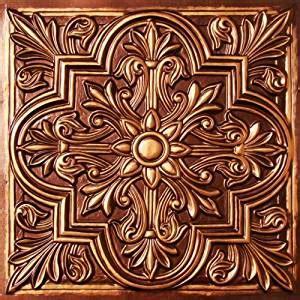 drop ceiling tiles 2x2 302 antique copper