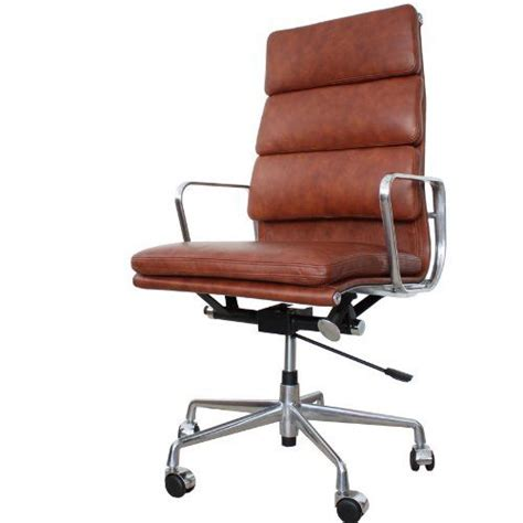 charles eames ea219 high back soft pad office chair in
