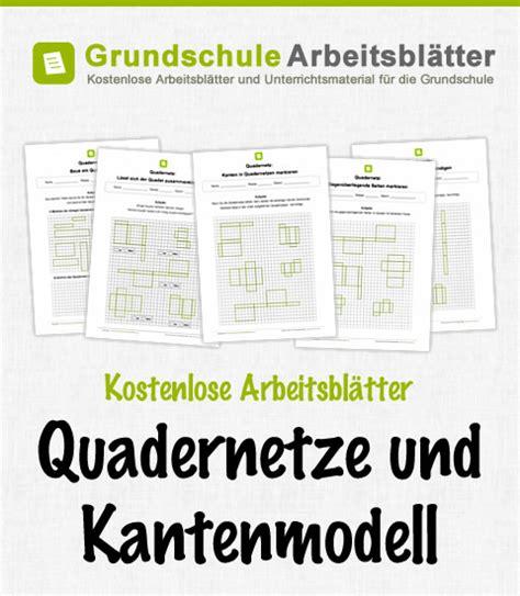 quadernetze und kantenmodell kostenlose arbeitsblae