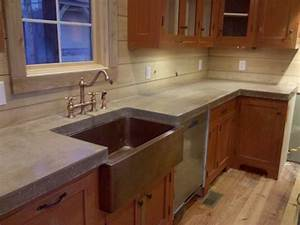 Cast N Place Concrete Countertops - Traditional - Kitchen