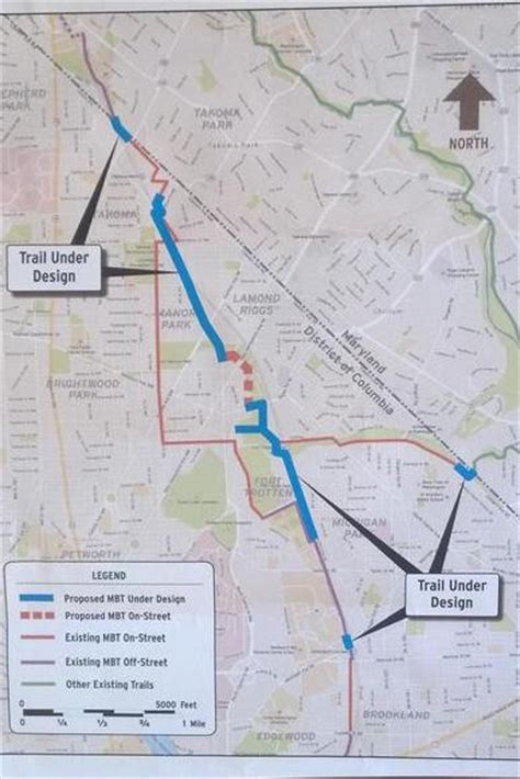 Trails are compared with nearby trails in the same city region with a possible 25 colour shades. New Metropolitan Branch bike trail designs move the 8-mile trail closer to done; #bikedc weighs in