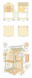 Spielhaus Selber Bauen Bauplan : bauplan spielhaus spielhaus in 2019 diy spielhaus ~ Watch28wear.com Haus und Dekorationen