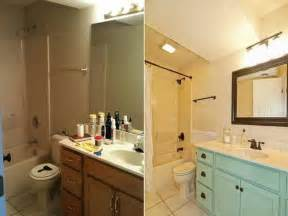 Bathroom Makeovers On A Tight Budget by Inexpensive Bathroom Makeover Ideas Home Design Makeover