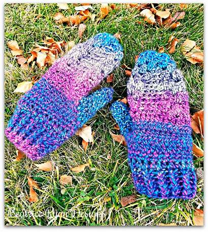 Crochet Mittens Pattern Beatriceryandesigns