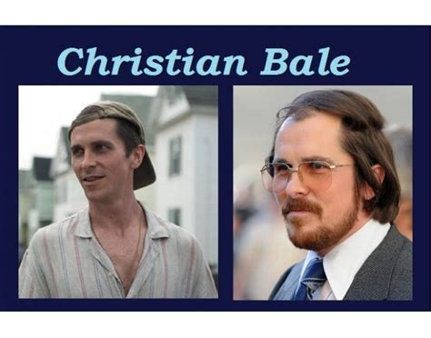 Christian Bale Academy Award Nominated Roles