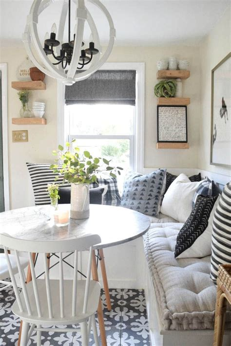 Supersize some of your everyday essentials, like a calendar or cork board, and put them on display in the dining or living room. Pretty Kitchen Wall Decor Ideas to Stir Up Your Blank Walls   Farmhouse dining room, Farmhouse ...