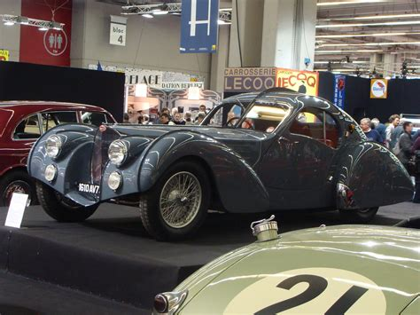 Only three were ever built. Bugatti Type 57 S Atlantic 1936   Chassis: N°57473, ex ...