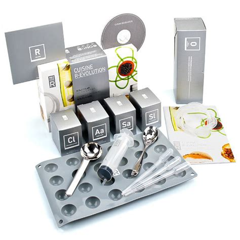 kit de cuisine moleculaire kit de cuisine moléculaire r évolution livre saveurs