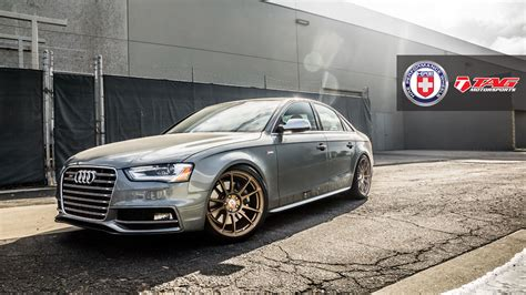 Audi S4 Custom Wheels Hre P44sc 19x9.5, Et , Tire Size 255