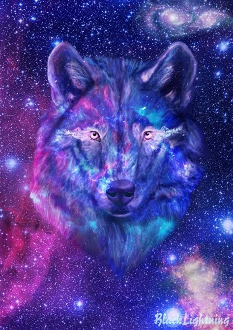 Galaxy Wolf Wallpaper by Galaxy Wolf Wallpapers Wallpaper Cave