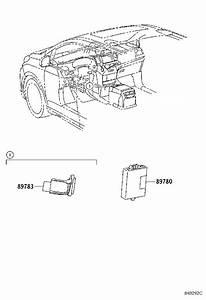 Toyota Sienna Ignition Immobilizer Antenna  Amplifier