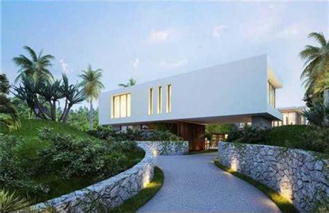 proposed  million modern mansion  miami beachs star