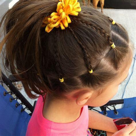 gymnastics meet hair  gymnastics hair