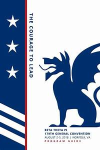 179th General Convention Program Guide By Beta Theta Pi