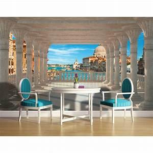 Papier Trompe L Oeil : papier peint trompe l 39 oeil paysage et ville ~ Premium-room.com Idées de Décoration