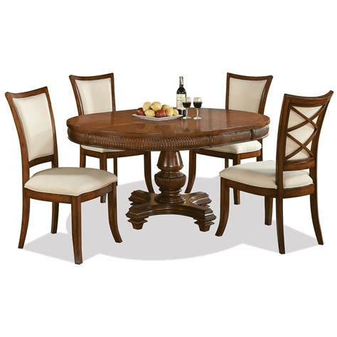 riverside table and chairs riverside furniture windward bay 5 piece round table and