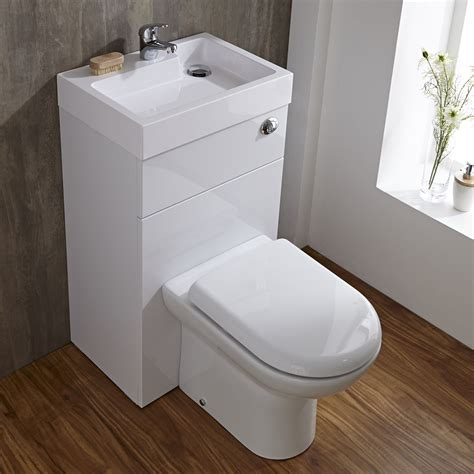 toilet and sink combination unit compact bathroom white combination toilet wc basin sink