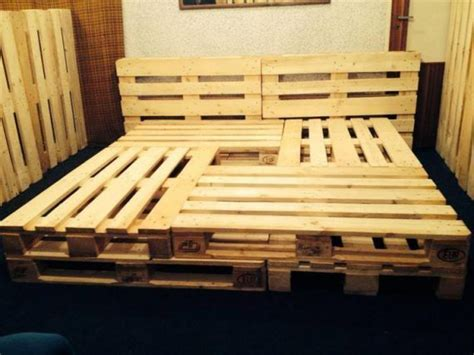 Size Pallet Bed Plans by Pallet Beds And Bed Frames Ideas