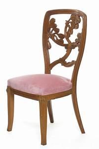 Art Nouveau Mobilier : chaise emile gall 1846 1904 nancy vers 1904 noyer ~ Melissatoandfro.com Idées de Décoration