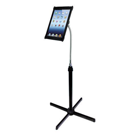 Cta Digital Heightadjustable Gooseneck Floor Stand Pad