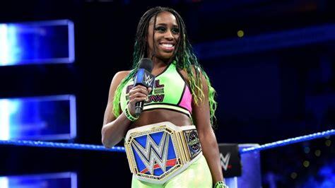 Naomi WWE Smackdown 2017