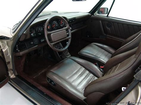 1986 porsche targa interior 1986 porsche 911 carrera targa dark brown leather