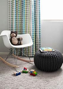 Pouf Chambre Enfant : le pouf tricot un style cosy ~ Teatrodelosmanantiales.com Idées de Décoration