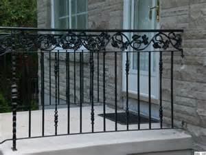 interior railings home depot wrought iron railings rail 110 jpg