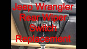 Windshield Wiper Switch Replacement 1999 Jeep Wrangler