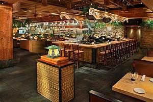 traditional japan sushi restaurant interior design entry