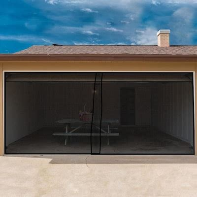 nature spring    retractable double garage door screen  lowescom