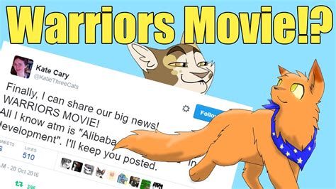 Warrior Cats Movie Announced!  Why You Should Be Excited