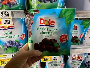 Grocery List Price Calculator Dole Frozen Fruit Bags Just 0 99 At Shoprite Rebate