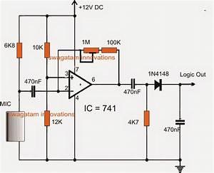 Motion Detector Circuit Diagram