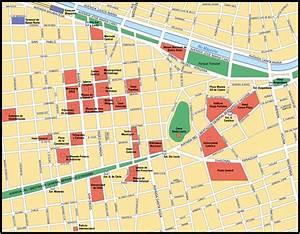 Map Of Santiago  City Maps Of Chile  U2014 Planetolog Com