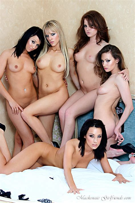 Sexy Victoria James Nude With Four Hot Uk Babes 1 Of 1