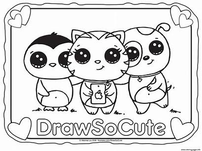 Coloring Pages Printable Draw Things Colouring Selfie