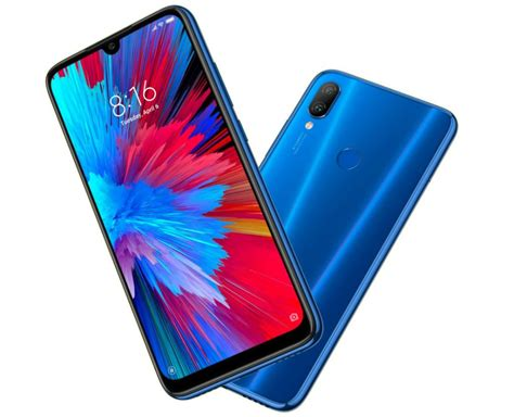 xiaomi redmi note 7 with 6 3 inch fhd display snapdragon