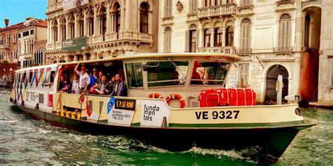 Venice By Vaporetto Water Bus Venice