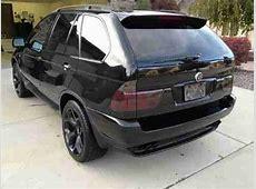Buy used 2002 BMW X5 44i Black on Black with Black wheels
