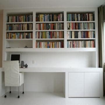 ik bureau bureau met boekenkast werkspot